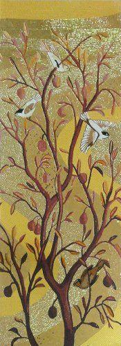 Birds on Autumn Tree Branch Hand Made Glass Mosaic Tile Modern Art Wall Mural Decor Mozaico http://www.amazon.com/dp/B00D1REY10/ref=cm_sw_r_pi_dp_ZJ8yvb1Y64QV3