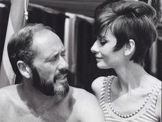Audrey Hepburn and Mel Ferrer on holiday in Venice-Italy- De Timeless Audrey Hepburn