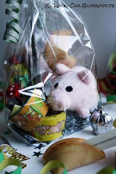 Rock and Owl: Happy New Year! Cupcakes und kleine Mitbringsel