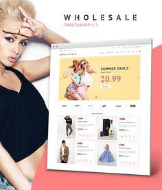 PrestaShop Theme , Wholesale Store