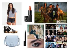 """Hanging out with the cast of Maze Runner"" by mtvlover27 ❤ liked on Polyvore featuring Billabong, NARS Cosmetics and rag & bone"