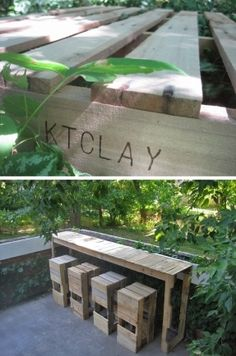 Looking for a DIY outdoor bar idea? This guide is designed to help you find DIY outdoor bars that you would like to have in your backyard and help you make them your own. Here are of DIY Outdoor Bar Ideas To Make Your Patio Sing. Outdoor Furniture Plans, Diy Pallet Furniture, Diy Furniture Projects, Woodworking Projects, Diy Projects, Antique Furniture, Palette Furniture, Woodworking Skills, Cabinet Furniture