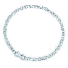 My bracelet will need its match!  ;) Tiffany Infinity necklace in sterling silver.