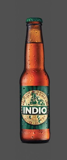 Indio Beer (Mexico) rebranding #logo #design #product
