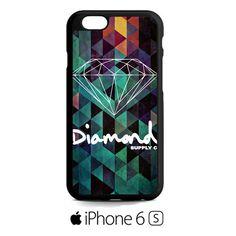 Green Diamond Geometric iPhone 6S  Case