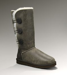Ugg Womens Bailey Button Triplet Bomber - WANT