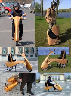 Moveo, foldable electric scooter designed and developed in Hungary. Production starts in 2014 - pre-orders are accepted.