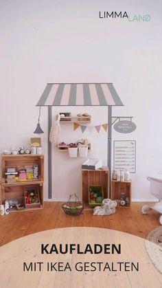 Baby Bedroom, Baby Room Decor, Kids Bedroom, Ikea Girls Room, Kids Wall Decor, Room Kids, Baby Playroom, Montessori Room, Toddler Rooms