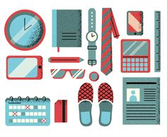 Harvard Business Review Illos 2012-2014 on Behance