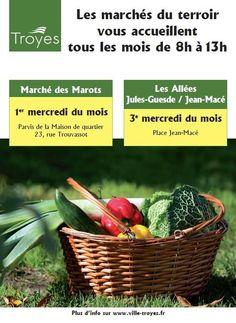 marché de terroir Jules Guesde  - Jean Mac. Le mercredi 21 mai 2014 à Troyes.