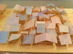 石上純也展 @ 資生堂ギャラリー Part 1 Japan Architecture, Landscape Architecture, Architecture Design, Open House Plans, Roof Structure, Ap Art, Basic Shapes, Exhibition Space, Types Of Houses