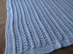 Mayflower Baby Blanket - CROCHET
