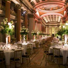 The Upper Library, wedding breakfast celebration