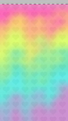 Glitter Wallpaper Heart Colorful Cute Backgrounds Iphone