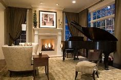 small rooms with baby grand piano - Bing Images