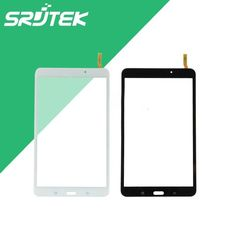 """Black/White 8"""" Touch Panel For Samsung Galaxy Tab 4 8.0 T330 Touch Screen Digitizer Glass Sensor Tablet PC Replacement Parts"""