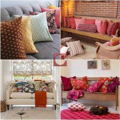 Decorar a casa com almofadas coloridas traz alegria e muito conforto aos ambientes. Seja para a sala ou para o quarto, a Cassol tem uma grande variedade enorme de almofadas para casas de todos os estilos!