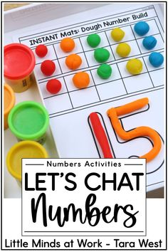 Learning numbers in kindergarten? The activities in this post offer a huge variety of engaging, hands ways for kindergarten and preschool students to practice number sense concepts. Click the pin to check out these number activities and grab SIX free downloads while you're there!