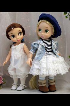 Disney Animator's Collection Dolls Belle & Rapunzel