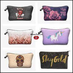 Makeup Bags, Cosmetic Bag, Sunglasses Case, Shoulder Bag, Printed, Cute, Stuff To Buy, Makeup Pouch, Make Up Bags