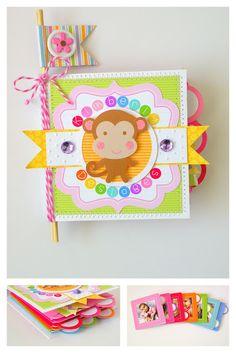 Doodlebug Design 3x3 card mini album