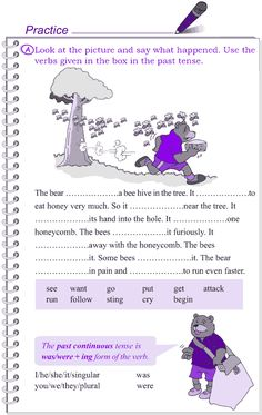 Grade 4 Grammar Lesson 19 The past tense (3)