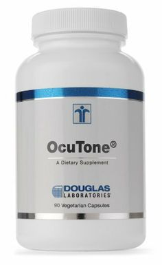 Ocutone 90 Capsules by Douglas Labs. $49.10. Amni OcuTone, provided by Douglas Laboratories, is adietary supplement providing a well-balanced spectrum ofkey nutrients that are important in maintaining normal eyefunction. OcuTone delivers generous amounts of lutein,beta-carotene, flavonoids, glutathione, sulfur-containingamino acids, trace elements and a comprehensive array ofantioxidant vitamins.More than any other tissue in the body, the ocular lens and retinaare cont...
