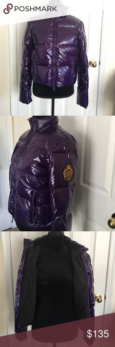 Ralph Lauren purple puffer jacket size S NWOT never worn! Lauren Ralph Lauren Jackets & Coats Puffers