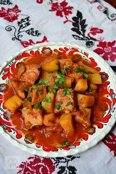 Gulas de porc cu cartofi