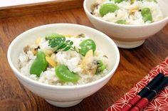 そら豆とあさりのごはん How To Boil Rice, Potato Salad, Mashed Potatoes, Ethnic Recipes, Food, Whipped Potatoes, Smash Potatoes, Essen, Meals