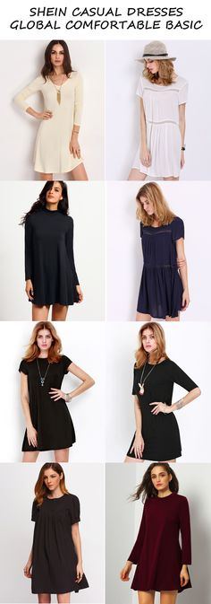 Collection of Comfortable Basic Summer Dresses - They are most certainly about keeping you trendy!