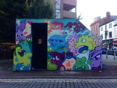 Manchester graffiti art northern quarter
