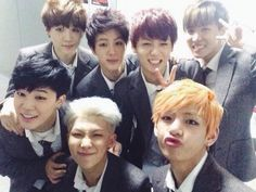 Bangtan boy - They are like puppies!! I just want to hug them and squeeze them!! And just give them all a biiig kiss!!