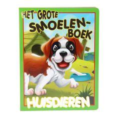 Leer huisdieren kennen met dit grappige smoelenboek!Afmeting:  28 x 21,5 x 1 cm - Het Grote Smoelenboek - Huisdieren