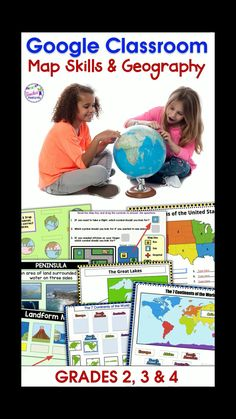 Browse over educational resources created by Teacher Features in the official Teachers Pay Teachers store. Geography Activities, Geography For Kids, Geography Lessons, Classroom Map, Google Classroom, Classroom Activities, Social Studies Resources, Teaching Resources, Primary Resources