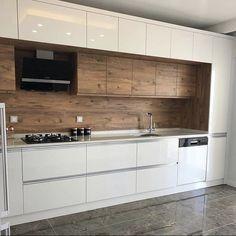 Kitchen Rack Design, Interior Design Kitchen, Kitchen Decor, Home Room Design, House Design, Petite Kitchen, Wardrobe Door Designs, Küchen Design, Beautiful Kitchens