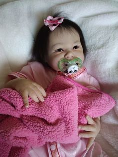 Asian Reborn Baby Dolls | ... Reborn baby doll by Jeanne's Teenies ~ Shao / Adrie Stoete ~ asian