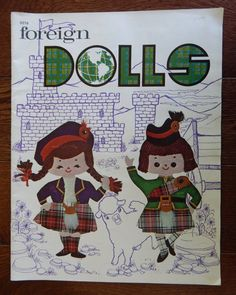 Foreign Dolls by Kay Ohlsen Pattern For Flat Boys n Girls