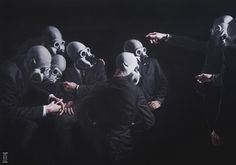 Amazing Paintings by Alec Huxley