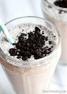 Cookies & Creme Milkshake » Table for Two