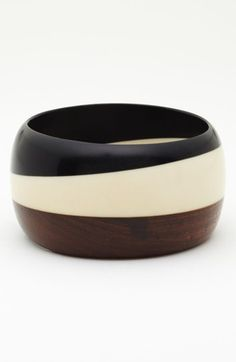 Stephan & Co. Wood Bangle available at #Nordstrom