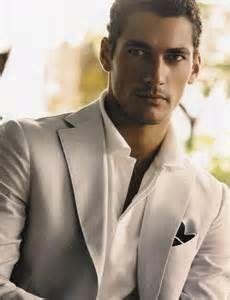 David Gandy - Dolce And Gabbana, men pose suit