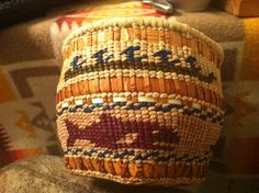 Cedar-Weaved basket ...I like how this one turned out!!