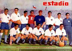 EQUIPOS DE FÚTBOL: CHILE Selección 1945