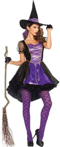 Adult Crafty Vixen Witch Costume - Party City