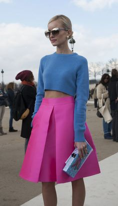 Street Style | Paris Fashion Week More Street Style Here… Image Source