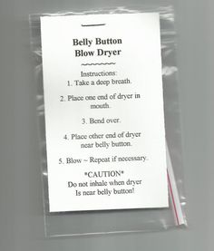 NEW Belly Button Blow Dryer Novelty Gag Gift Prank Joke Stuffer - Prank - Prank meme - - Belly Button Blow Dryer Novelty Gag Gift Prank Joke Stuffer The post NEW Belly Button Blow Dryer Novelty Gag Gift Prank Joke Stuffer appeared first on Gag Dad. Neighbor Christmas Gifts, Funny Christmas Gifts, Christmas Humor, Xmas Gifts, Christmas Pranks, Redneck Christmas, Funny Xmas, Christmas Games, Redneck Gifts