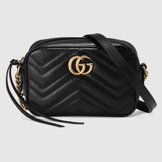 Gucci Damen - Mini-Tasche GG Marmont aus Matelassé - 448065DRW1T1000