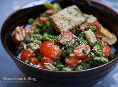 Cremige Ingwer-Tofu-Gemüse-Pfanne