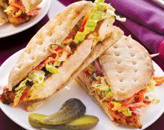 Grilled Chicken Sandwich School Lunch